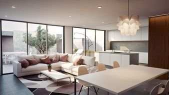 Visualization living room