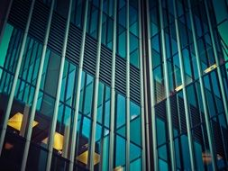modern architecture glass facade