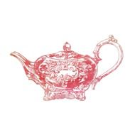 teapot with decorative elements