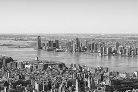 new york city skyline old picture