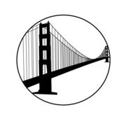 Golden Gate Bridge California sketch