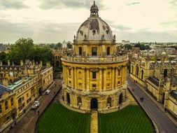historical building in Oxford, England