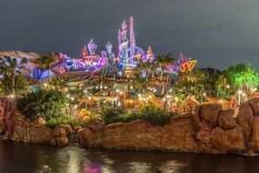 Disney at Night