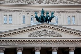 bolshoi theater, Moscow Russia