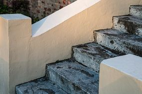 photo of concrete steps