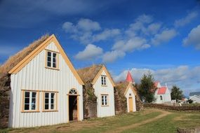 thatched houses in iceland