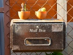 iron Mail Box