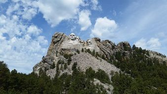 Mount Rushmore National Memorial in Dakota