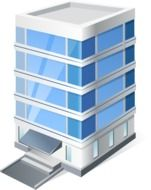 graphic image of office building