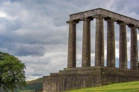 tourist attraction of Scotland National Monument