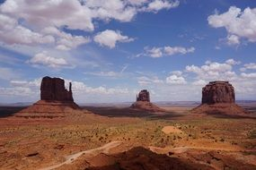west Monument Valley