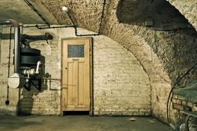 air-raid shelter World War
