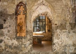 interior of Michaelstein Abbey, Germany