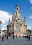 old town monument in Dresden Germany