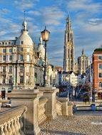 historic architecture in antwerp