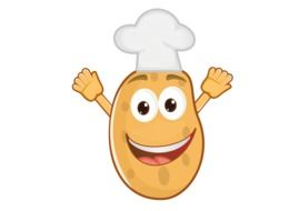 Potato Chef cartoon drawing