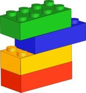 lego colorful blocks