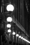 street lights in London