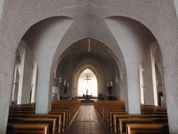 st john the baptist church Interior, germany, new ulm