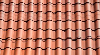 new fresh roof tiles