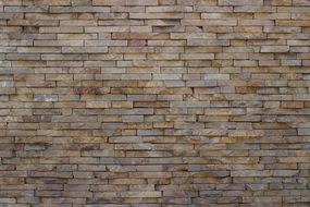 solid brick wall