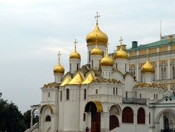 Assumption Cathedral - orthodox temple of the Moscow Kremlin