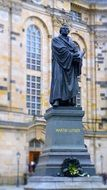 Martin Luther Monument Statue