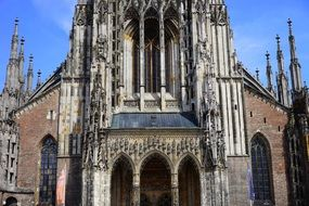 Front of Ulm cathedral