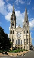 Chartres Cathedral in France