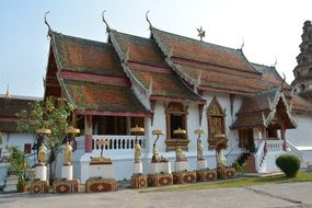 traditional Buddhist Temple, Thailand