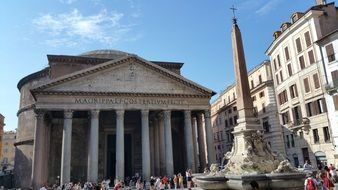 Pantheon Rome Italy Monument
