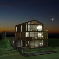 Family Villa Visualization 3d