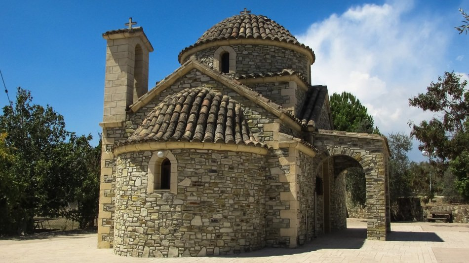 Orthodox stoned Church in Cyprus