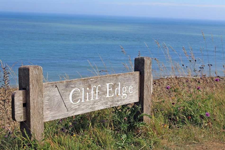 sign on the coast