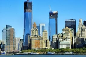 towers- skyscrapers in New York, United States