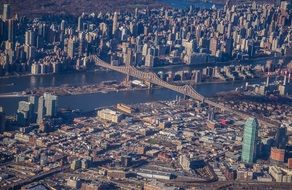 New York city aerial photography cityscape