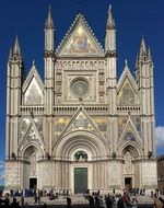 Landscape of Duomo Orvieto Cathedral