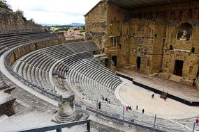 amphitheater in france