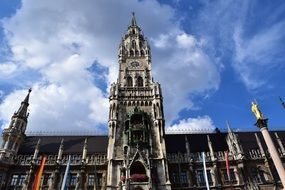 historic town hall in munich
