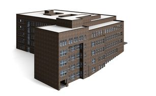Office Building visualization 3d