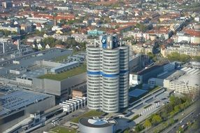 Bmw Munich Tower