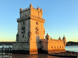 old fortress in Lisbon