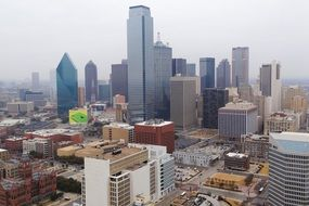 downtown of Dallas, US