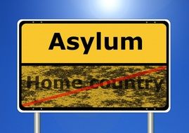 sign asylum, home country