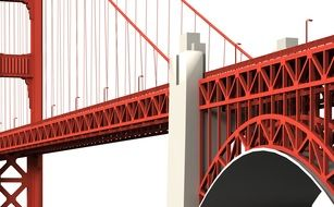 places of interest Golden Gate Bridge landmark