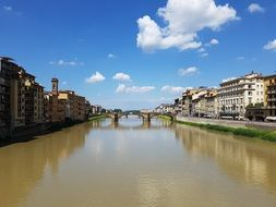 river bridge in florence