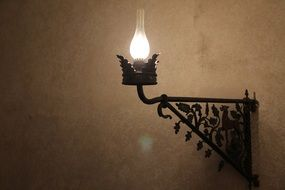 Lamp in the castle