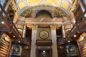 Vienna National Library inside