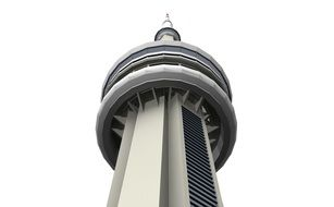 Tower top Toronto Canada