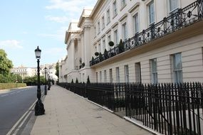 nice Neoclassical Terrace